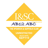 Ipswich and Suffolk Club parking permit